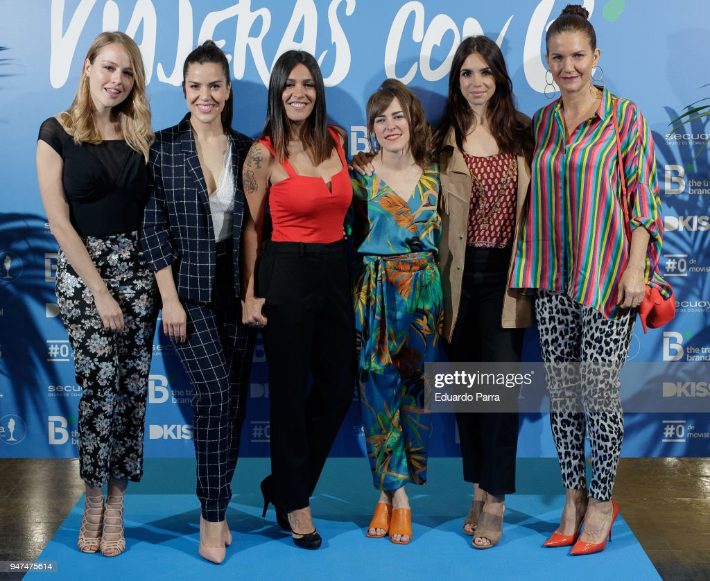'Viajeras Con B' Madrid Photocall