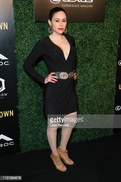 Esmeree Sterling attends Uptown Honors Hollywood PreOscar Gala Arrivals at City Market Social House on February 20 2019 in Los Angeles California