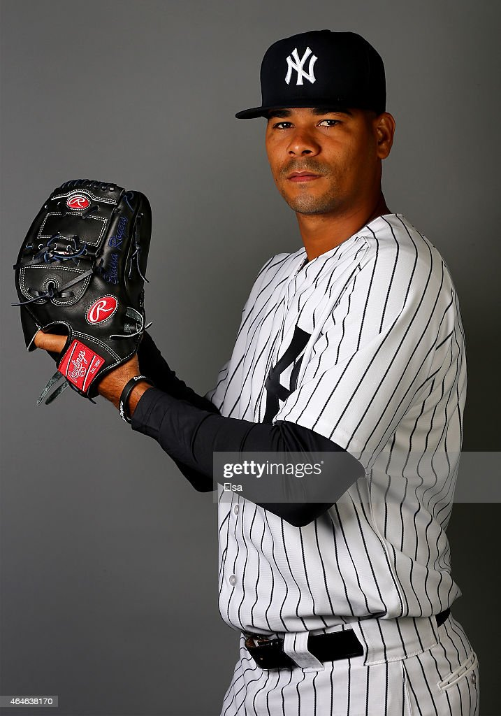 Esmil Rogers #53 of the New York Yankees poses for a portrait on February 27, 2015 at George M. Steinbrenner Stadium in Tampa,Florida.