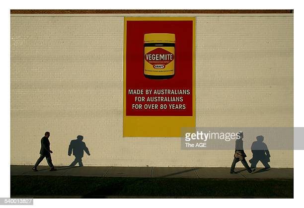Esmond Curnow Assistant State Secretary of the National Union of Workers left walks along the Port Melbourne Kraft factory after hearing the news...