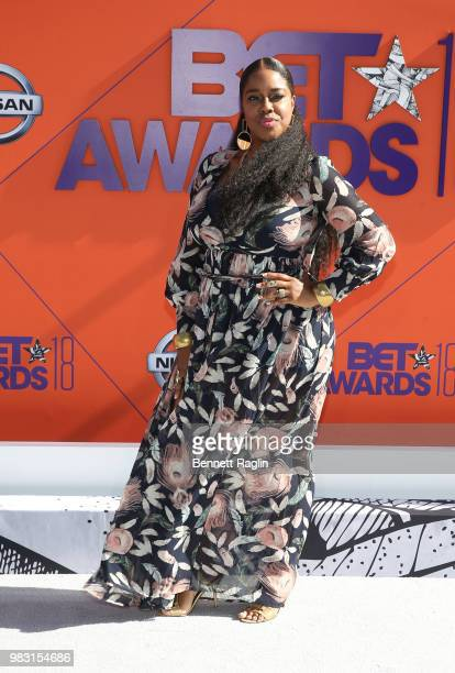 Esnavi attends the 2018 BET Awards at Microsoft Theater on June 24 2018 in Los Angeles California