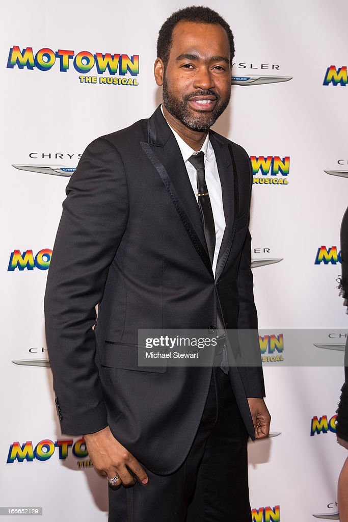Esosa attends the Broadway opening night for 'Motown: The Musical' at Lunt-Fontanne Theatre on April 14, 2013 in New York City.