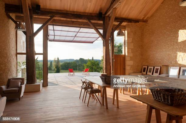 L'Espace - a converted barn in Perigord Vert, France