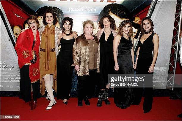 Espace Detente Premiere On January 31St 2005 In Paris France Jeanne Savary Armelle Noemie Elbaz Chantal Neuwirth Sylvie Loeillet Valerie Decobert...