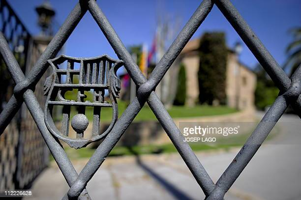 WITH Espagne Barcelone la Masia creuset de l'alchimie blaugrana by YANN BERNALView of the main door of the building named La Masia where young...