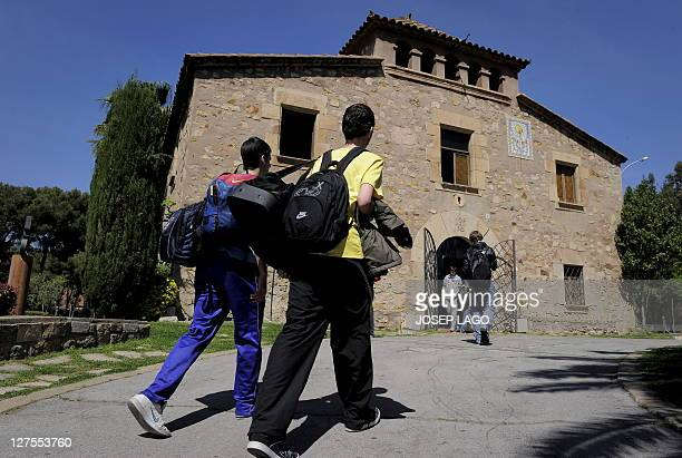WITH Espagne Barcelone la Masia creuset de l'alchimie blaugrana by YANN Young mean arrive at the building named La Masia where young players of the...