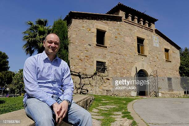 WITH Espagne Barcelone la Masia creuset de l'alchimie blaugrana by YANN Carles Folguera director of the building named La Masia where young players...