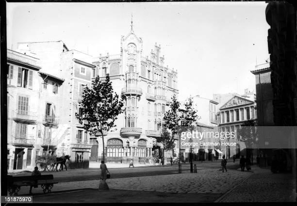 Espagne Palma de Mallorca-Grand Hotel theatre, ca. 1908.