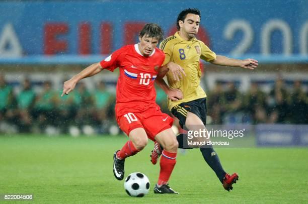 ARSHAVIN / XAVI Espagne / Russie 1/2 Finale Euro 2008 Vienne