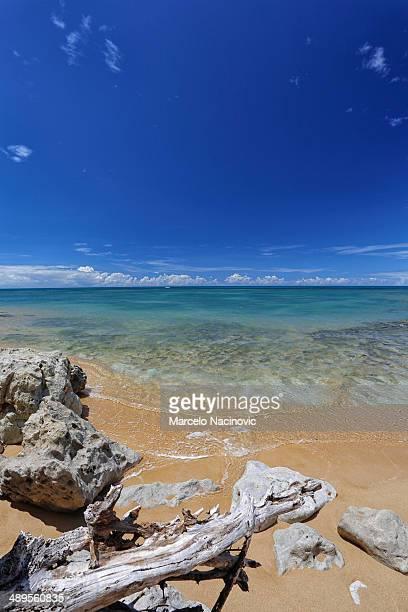 espelho beach at bahia, brasil - espelho stock pictures, royalty-free photos & images