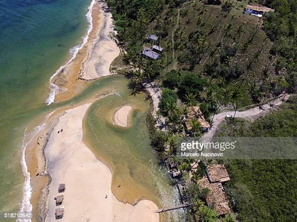 espelho beach in trancoso - trancoso imagens e fotografias de stock