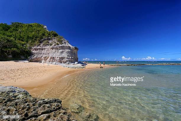 espelho beach , trancoso , bahia , brazil - trancoso imagens e fotografias de stock