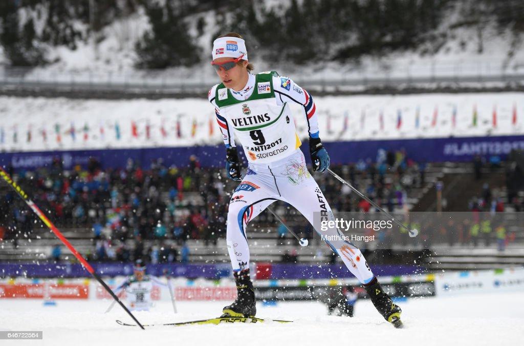 Men's Nordic Combined HS130/10k - FIS Nordic World Ski Championships : Nachrichtenfoto
