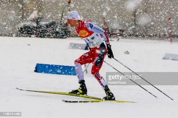 Espen Bjoernstad competes in the FIS Nordic Combined World Cup, Individual Gundersen , on December 21, 2019 in Ramsau am Dachstein, Austria.