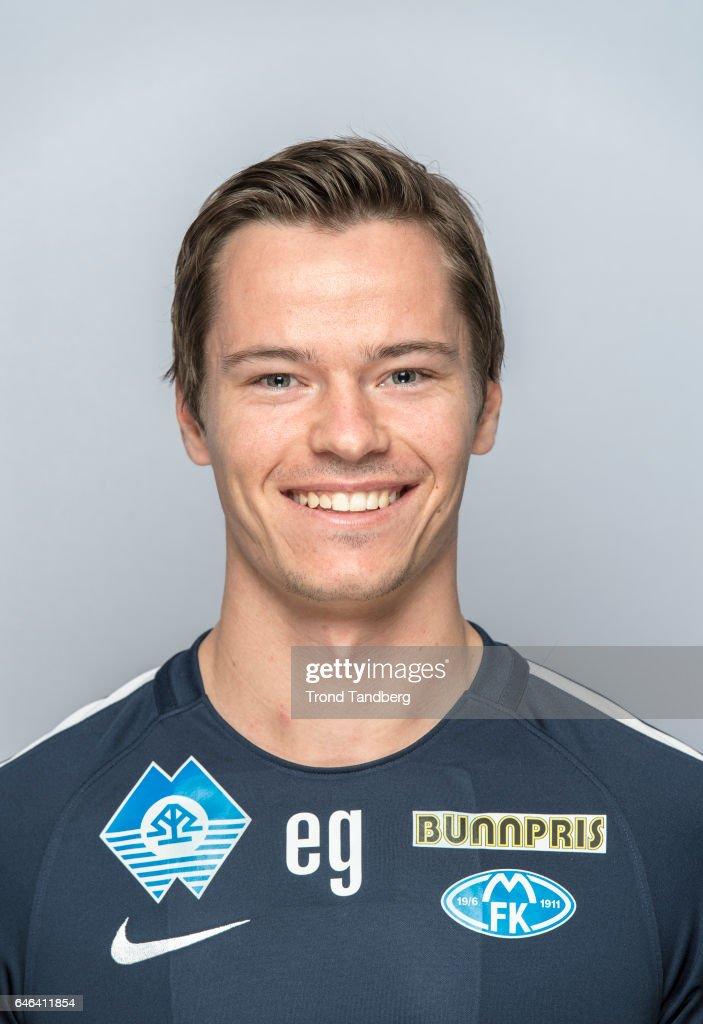 Espen Gjostol of Team Molde FK Photocall on February 21, 2017 in Molde, Norway.