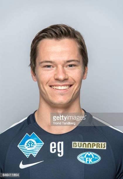 Espen Gjostol of Team Molde FK Photocall on February 21 2017 in Molde Norway