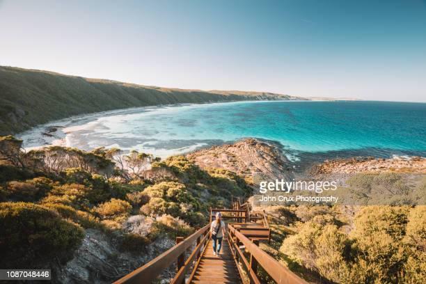 esperance stairs - western australia stock-fotos und bilder