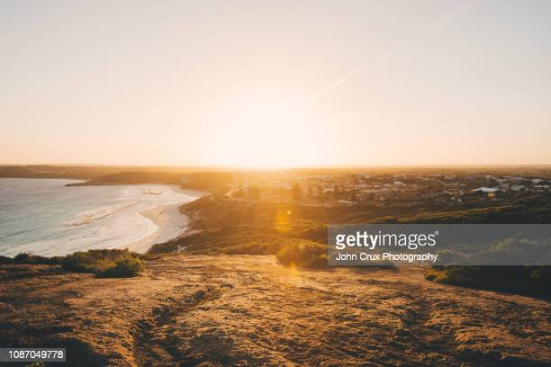 esperance sunset lookout - town stock pictures, royalty-free photos & images