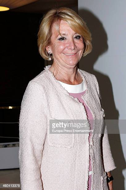 Esperanza Aguirre attends 27th Bombines San Isidro awards on May 19 2014 in Madrid Spain