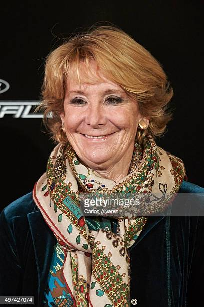 Esperanza Aguirre attends the Vanity Fair Personality Of The Year Gala at the Hotel Ritz on November 16 2015 in Madrid Spain