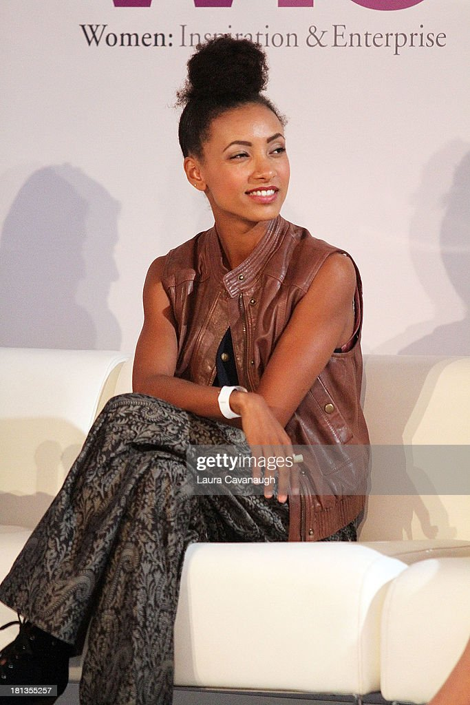 Esperanza Spalding attends day 1 of the 4th Annual WIE Symposium at Center 548 on September 20, 2013 in New York City.