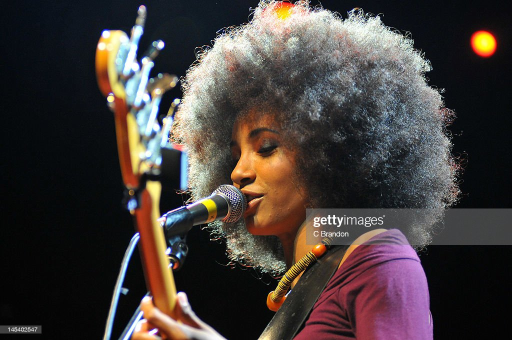 Esperanza Spalding performs on stage at KOKO on May 28, 2012