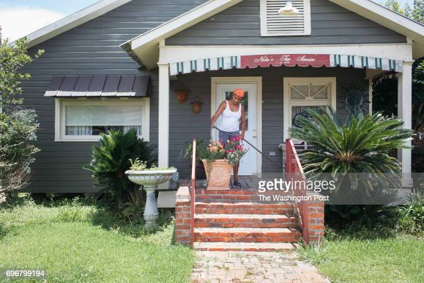 Espinola Quinn at her Tax Services business in St Martinville Louisiana on June 12 2017 Quinn open her business in 2003 in a renovated slave quarters...