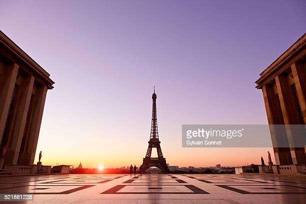 Esplanade du Trocadero and Eiffel Tower
