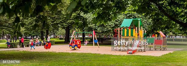 Esplanade garden, a playground
