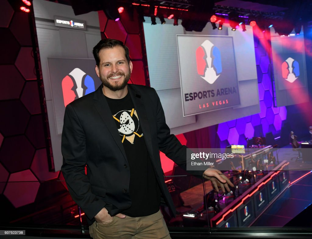 Grand Opening Of Esports Arena Las Vegas, The First Dedicated Esports Arena On The Las Vegas Strip At Luxor Hotel and Casino : News Photo