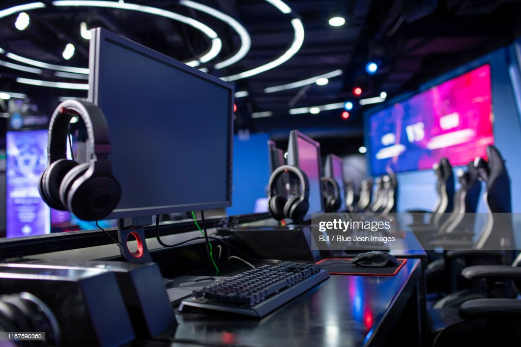 Esports arena : Stock Photo