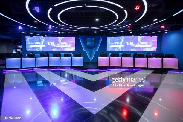 esports arena - esports stock pictures, royalty-free photos & images