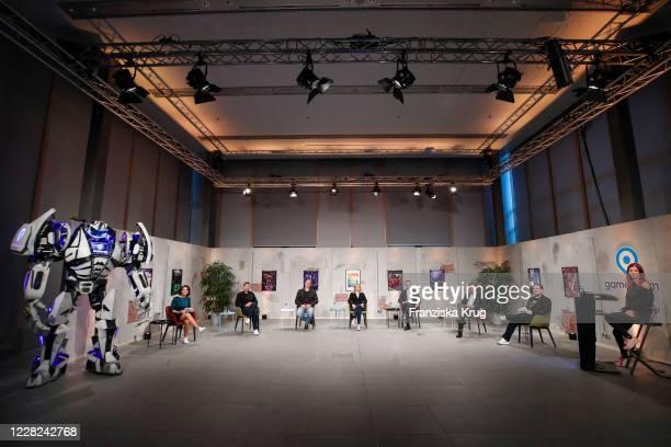 Sports presenter Phylicia Whitney , Secretary General of Germany's Social Democratic Party Lars Klingbeil, German politician Joerg Schindler ,...