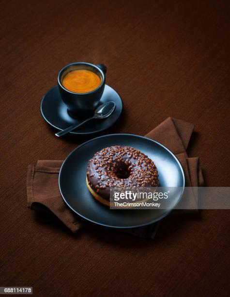 Espresso and a Doughnut