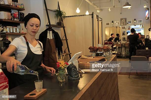Espresso Bar in Cafe Neve
