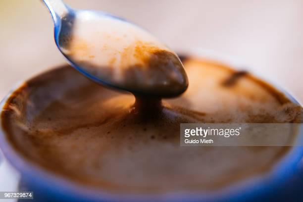 Espresso coffee crema.