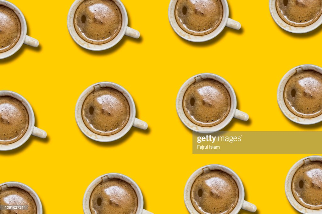 espresso coffee : Stock Photo