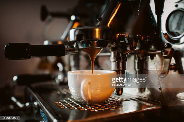 espresso machine - espresso stock photos and pictures