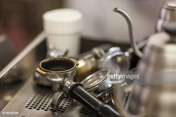 Espresso machine portafilter