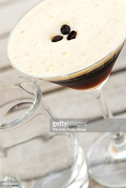 Espresso Martini mixes the 10 cocktailsalcohol laced drinks that leave Delhi's women shaken and stirred at Dublin Bar in Hotel Maurya Sheraton New...