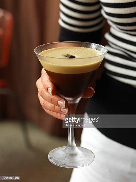espresso martini - espresso stock photos and pictures