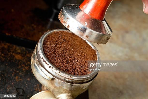 Espresso Portafilter et de blocage