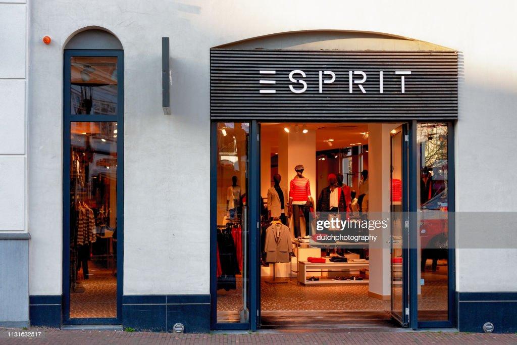 Esprit kleding Shop Amersfoort, Netherlands-2019 : Stock Photo
