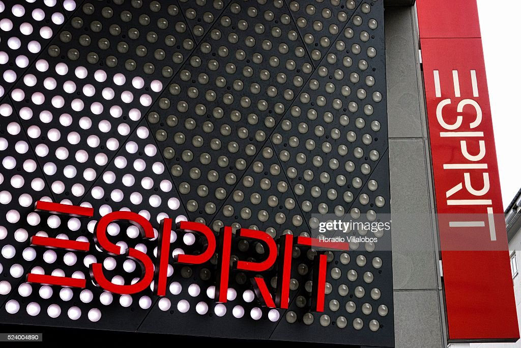 Esprit store in Zeil, Frankfurt, Germany, 26 September 2014 ...