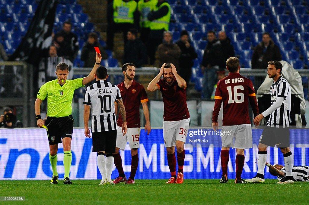 AS Roma vs Juventus FC- Serie A 2014-2015 : News Photo