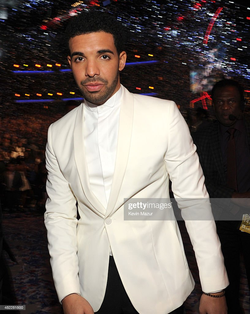 ESPYs Host Drake at The 2014 ESPY Awards at Nokia Theatre L.A. Live on July 16, 2014 in Los Angeles, California.