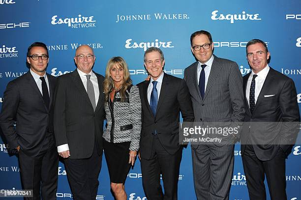 Esquire Network General Manager Adam Stotsky Esquire EditorinChief David Granger Chairman of the NBCUniversal Cable Entertainment Group Bonnie Hammer...