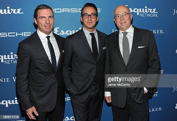 Esquire publisher Jack Essig Esquire Network General Manager Adam Stotsky and Esquire EditorinChief David Granger attend the Esquire 80th anniversary...