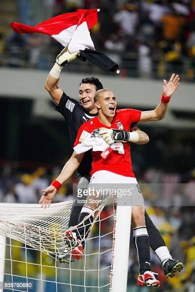 Essam EL HADARY / Mohamed ZIDAN - - Egypte / Cameroun ...  Essam EL HADARY...