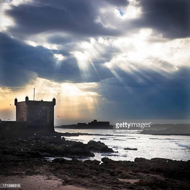 Essaouira, Maroc: Soirée du soleil